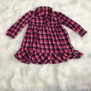 👧Cute plaid dress for little g…